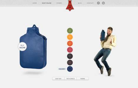 Animated Bag Webshops - Bagigia's Creative Web Shop Features an Engaging User Interface
