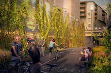 Bike-Only Parking Lots - This New Bicycle Parking Garage Will be Built in Stockholm, Sweden