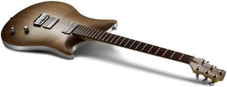 Touch-Control Guitars - The Jane Guitar Uses LED Touch Sensors to Switch Between Pickups