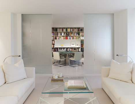 Simplistic Whiteout Residences - O/K Coral is a Chic Contemporary Apartment in Washington, DC