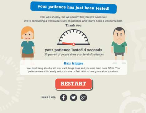 Patience Evaluation Games - Interparcel Offers a Way to Test Your Patience Online
