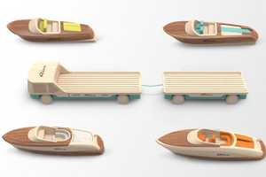 These Riva Yacht Toy Boats are a Tribute to Five Classic Vehicles