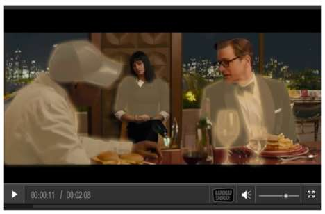 Shoppable Movie Trailers - People Can Buy Looks from 'Kingsman: The Secret Service' with a Click