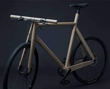 Contemporary Wooden Bicycles