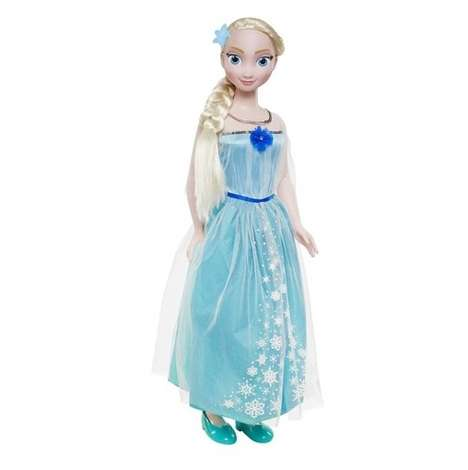 Kid-Sized Disney Dolls - These Disney Frozen My Size Dolls Feature a Human Height