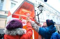 Warming Fitness Stations - The Russian Olympic Committee's Heat Lamp Design Encourages Activity