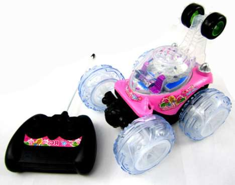 Barbie Remote Control Cars - This Toy is Capable of 360 Degree Acrobatic Stunts