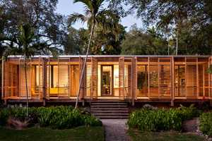 The Brillhart House is a Majestic Hand-Built Home is Downtown Miami