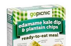 Ready-Made Meal Packs - Gopicnic's On-the-Go Lunch Packs Provide Hearty Meal-Sized Snacks