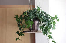 Homemade Plant Hangers - This Natural-Looking Decorative DIY Plant Holder is for Hanging Houseplants