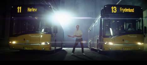 Dramatized Bus Ads - Following the Epic Bus Commercial, Midttrafik Profiles the Epic Passenger