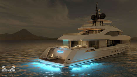 Expansive Open-Air Yachts - ISA Yachts' Yara 44 Boasts 50% More Usable Outdoor Space