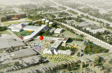 Urban Food Ports - OMA has Revealed Plans for a Community-Enriching Louisville Food Port