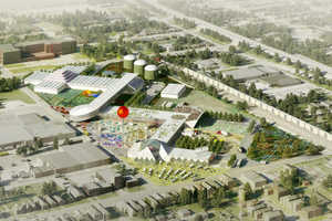 OMA has Revealed Plans for a Community-Enriching Louisville Food Port