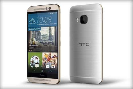 Leaked Smartphone Specifications - The HTC One M9 Appears to be Available in Two Colorways