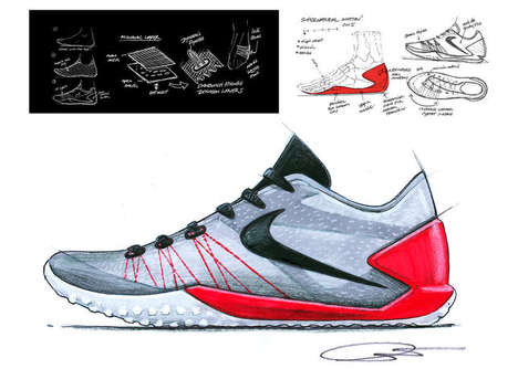Shuffle-Friendly Basketball Shoes - The Nike Hyperchase is Designed For Players With Quick Footwork