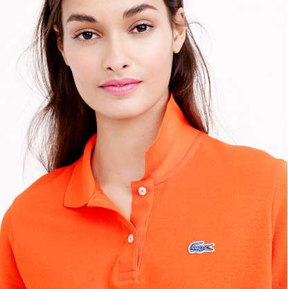 Collaborative Polo Shirts - The J.Crew Lacoste Collection Uses Classic Version of the Alligator Logo