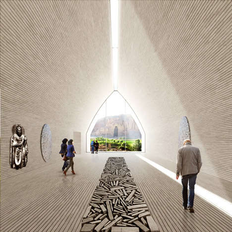 Community-Building Designs - UNESCO has Revealed the Design for the Bamiyan Cultural Center