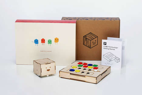Child Coding Playsets - Cubetto Introduces Programming Basics to Kids with a Robot