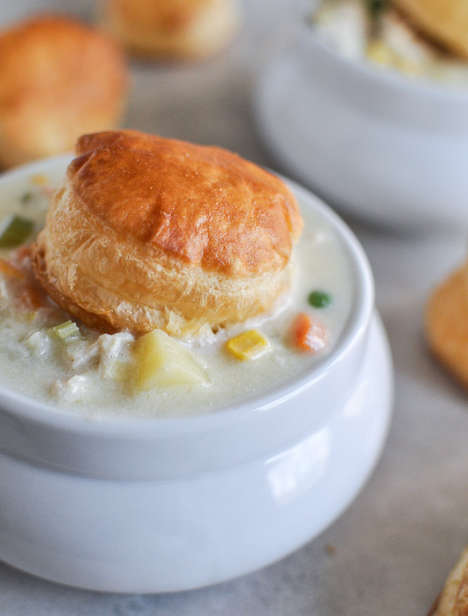 Pot Pie Soup Hybrids - This Chicken Pot Pie Soup Recipe Will Keep You Warm on a Cold Night