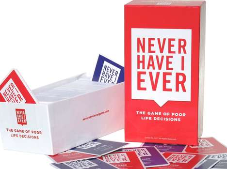 Overshare Card Games - 'Never Have I Ever' Urges Players to Reveal Their Most Embarrassing Stories