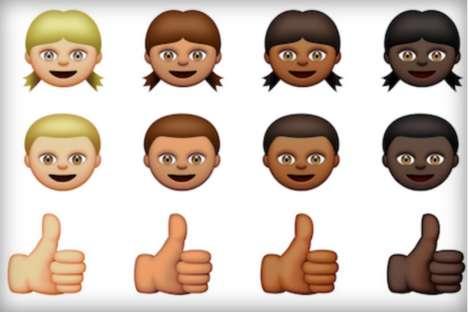 Multicultural Emoji Characters - Apple Adds Diversity to Its Emoji Keyboard