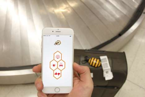 Bag-Tracking Beacons - BeeQyn is a Smart Luggage Tracker That Keeps Travelers Informed