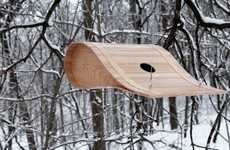 Ryan Bruxvoort's Birdhouse Concept is Sculptural and Modern
