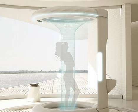 Swanky Waterfall Showers