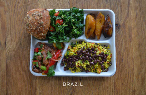 International School Lunches - Salad Chain Sweetgreen Recreates Midday Meals from Around the World