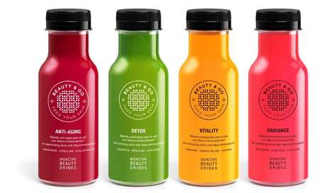 Bioactive Beauty Drinks - Beauty & Go's Drinks Promote a Healthy Glow from the Inside Out