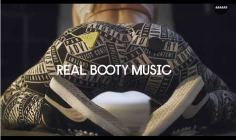 Twerking Headphone Campaigns - Aiaiai's Real Booty Music is a Track Created with Twerk Queen Louise