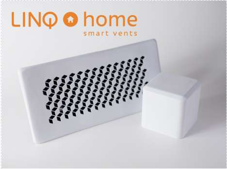 App-Controlled Home Vents - The LINQ Home Smart Vents Cut Costs & Eases the Burden on the Planet