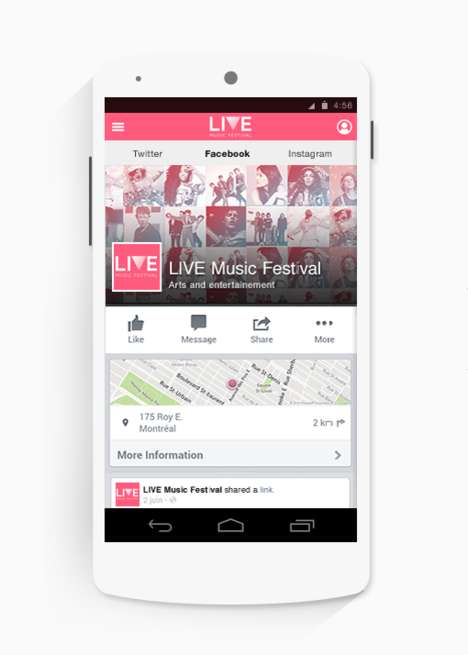 Customizable Festival Apps - Golive is a DIY App for the Music Festival Market