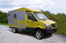 Rugged Expedition Vehicles - The EX 366 Can Navigate Any Terrain