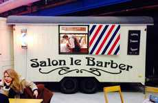Mobile Barber Shops - Salon Le Barber Brings Men's Grooming Services on the Road