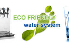 Retail Water Filtration Systems - Naturizzata Provides Customers with Pure Sparkling and Still Water