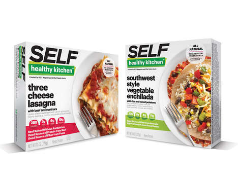 All-Natural Frozen Meals - SELF Magazine Introduces a Line of Healthy Frozen Meals