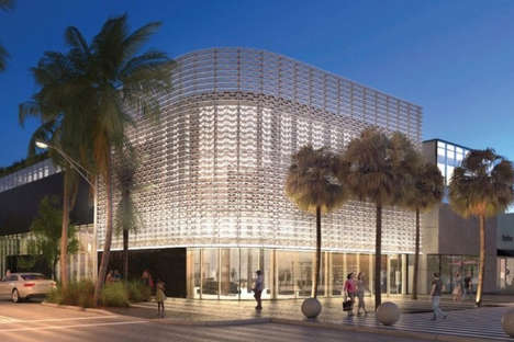Sporty Rooftop Shops - The Nike Miami Store Will Boast an Outdoor Track and Basketball Court