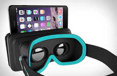 Pocket Virtual Reality Headsets - Moggles is a Portable Solution that Works with Smartphones