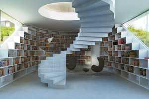 Villa Gug Integrates Cars Into the Home's Architecture