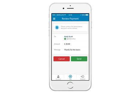 Social Banking Apps - Barclay's Pingit App Lets Users Send Money Via Twitter