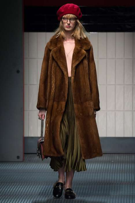 Auteur-Inspired Collections - The Alessandro Michele for Gucci Debut is Evocative of Wes Anderson