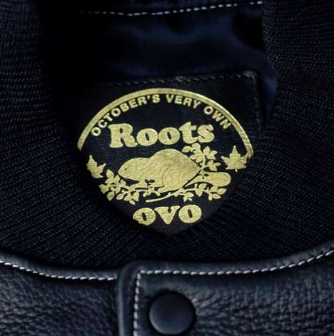 Canadian Rapper Fashions - This OVO x Roots Canada October Varsity Jacket is a Limited Release