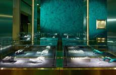 Surreal Ornamental Boutiques - The New Delfina Delettrez London Store Resembles a Jewelry Box