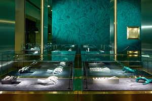 The New Delfina Delettrez London Store Resembles a Jewelry Box