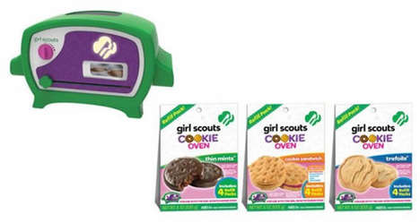 Toy Cookie Ovens - This Baking Toy for Girls Pumps Out Girl Scout Goodies