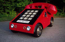 28 Outrageously Funny Cars - From Retro Phone Cars to Anime Monster Autos