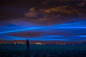 Waterlicht by Studio Roosegaarde Resembles a Stunning Virtual Flood