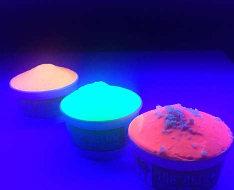 Artisan Fluorescent Ice Cream